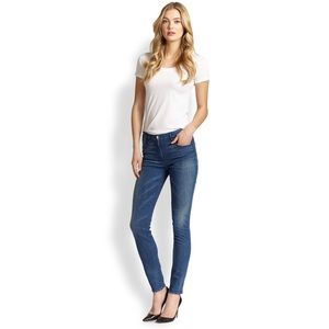 3x1 W3 High Rise Channel Skinny Jeans  $235 (NWT)